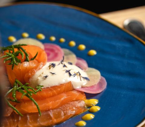 M Restaurant Bar Genève Saumon Gravlax