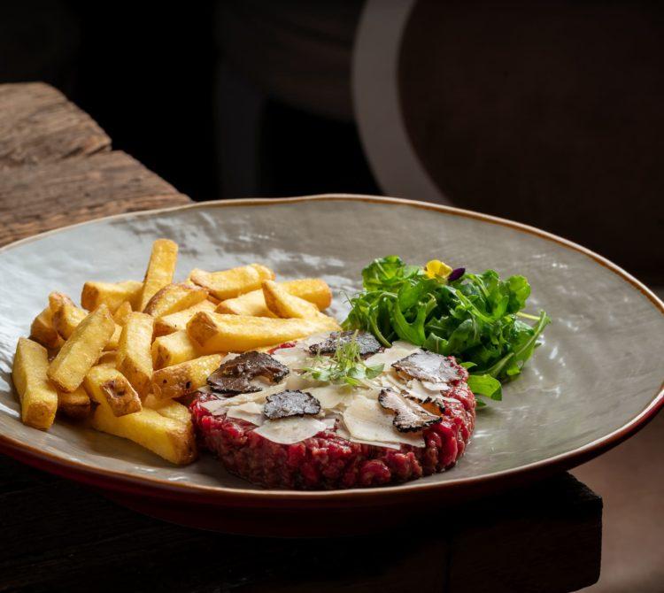 Tartare de boeuf, restaurant Le M Genève
